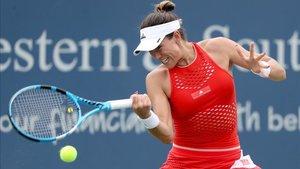 Garbiñe Muguruza le tiene muchas ganas al US Open