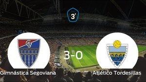 Goleada de la Gimnástica Segoviana frente el Atlético Tordesillas (3-0)