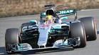 Hamilton, el más rápido en Spielberg
