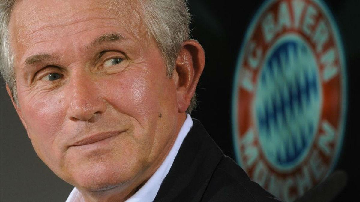 Heynckes, presentado como nuevo jugador del Bayern de Múnich