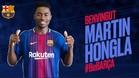 Oficial: Hongla, nuevo jugador del Barça B