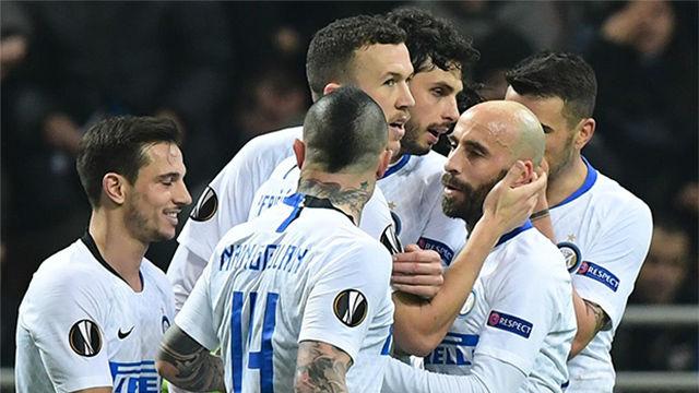 El Inter sentencia sin problemas la eliminatoria con un imperial Perisic