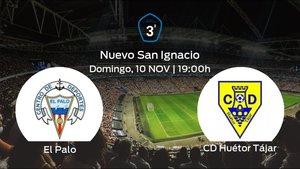 Jornada 13 de la Tercera División: previa del duelo El Palo - Huétor Tájar