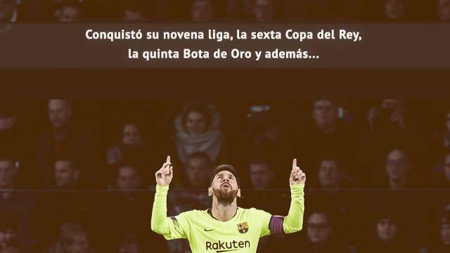 ¿Es justo que Messi sea el quinto?