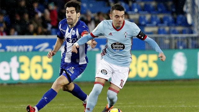LALIGA | Alavés-Celta (2-1) | Iago Aspas firma un gol a lo Messi