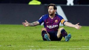 Leo Messi tiene contrato con el Barça hasta el año 2021