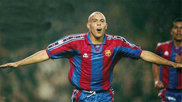 Los 34 goles de Ronaldo Nazario con el Barça en la liga 1996/1997