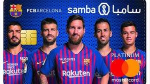 Los principales jugadores del Barça son imagen de este patrocinio