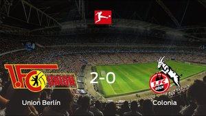 Los tres puntos se quedan en casa tras el triunfo del Union Berlín frente al Colonia (2-0)