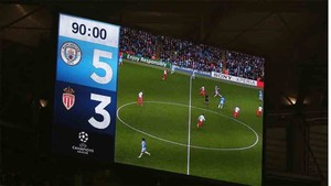 Los videomarcadores de Primera presentan novedades en la Liga 2018 / 2019