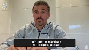 Luis Enrique respondió las preguntas de los aficionados