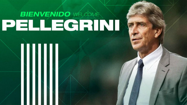 Manuel Pellegrini vuelve a España de la mano del Betis