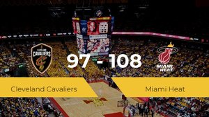 Miami Heat gana a Cleveland Cavaliers (97-108)