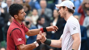 Novak Djokovic y Andy Murray