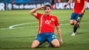 Pablo Fornals ha marcado goles decisivos con la selección sub21