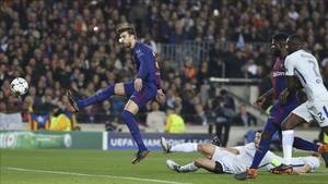 Piqué ha cumplido 100 partidos en competición europea