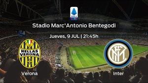 Previa del encuentro: Hellas Verona - Inter