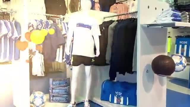La RCDE Store del Espanyol volverá a abrir a partir del martes