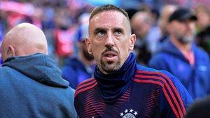 Ribery se congratula de haber seguido en el Bayern.