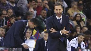 Sito Alonso habló claro tras el partido en Vitoria