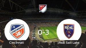 Sólido triunfo para el equipo de Utah: Cincinnati 0-3 Real Salt Lake