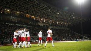 Suiza ganó en Islandia y condenó a los nórdicos
