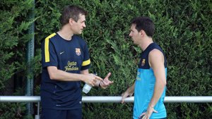 Tito Vilanova convenció a Messi de quedarse en el Barça 6 días antes de morir