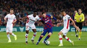 Todos los partidos Messi vs Mallorca, en imágenes