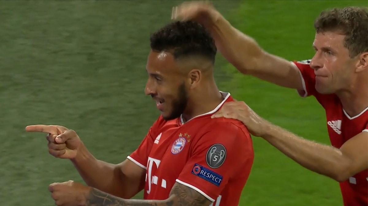 Tolisso remató al Chelsea con este gol