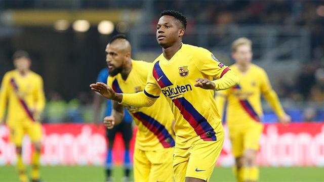 Tres españoles, entre los más jóvenes en marcar en Champions