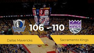 Triunfo de Sacramento Kings en el Centro American Airlines ante Dallas Mavericks por 106-110
