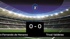 El Trival Valderas saca un punto al San Fernando de Henares en su casa 0-0
