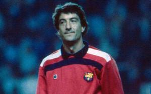 Urruti logró un único Zamora con la camiseta del Barça