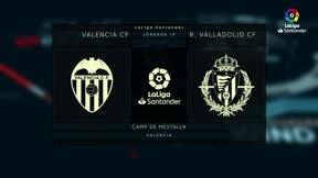 El Valencia logra un punto insuficiente ante el Valladolid
