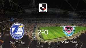 Victoria del Oita Trinita por 2-0 frente al Sagan Tosu