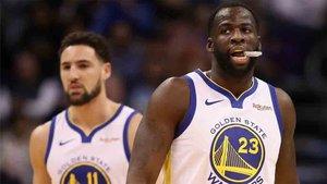 Victoria de los Warriors en la NBA