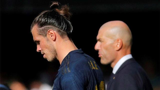 Zidane: Sí, desde que conozco a Bale ahora es cuando está más enchufado