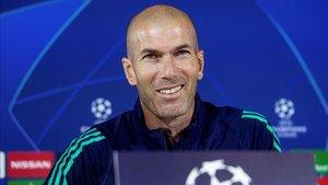 Zidane ha recuperado la sonrisa en los últimos días