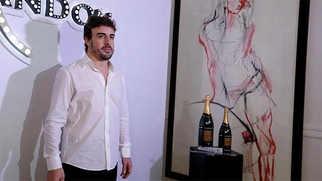 Resultado de imagen de evento chandon Fernando Alonso
