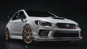 Nuevo Subaru WRX STi S209.