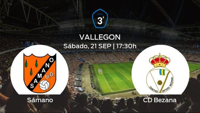 Jornada 6 de la Tercera División: previa del duelo Sámano - Bezana