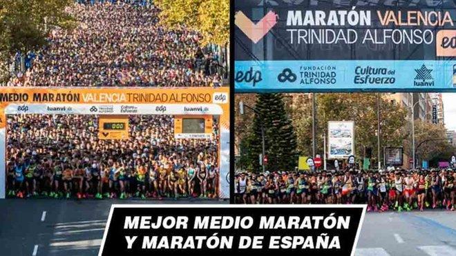 La Maratón de Valencia Trinidad Alfonso EDP, elegida la mejor carrera de España en 2019