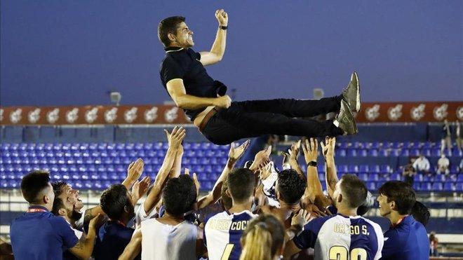 Antonio Hidalgo, el añorado estilo Barça triunfa en Sabadell