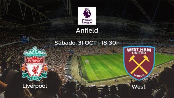 Previa del encuentro: Liverpool - West Ham