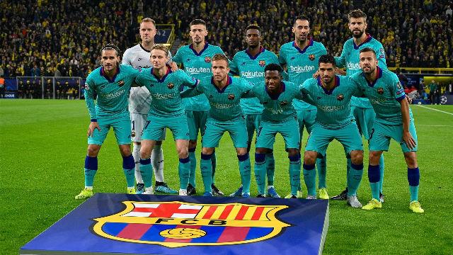 El 1x1 del Barça contra el Borussia Dortmund al descanso