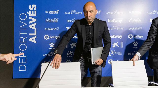 Abelardo se despide como entrenador del Alavés