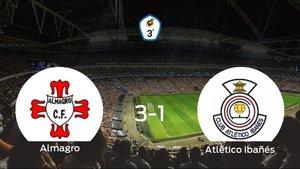 El Almagro gana 3-1 en su estadio frente al Atlético Ibañés