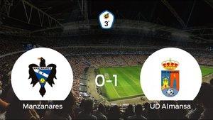 La UD Almansa suma tres puntos a su casillero frente al Manzanares (0-1)