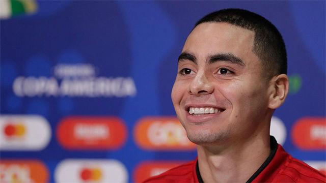 Almirón, sobre el interés del Real Madrid: Es un honor que un equipo así se fije en mí