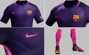 Así es la segunda equipación del Barça que se ha puesto a la venta este  jueves 0946cb35ccbd9